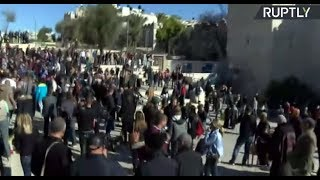 LIVE: Palestinians protest in Jerusalem against Trump's recognition of the city as Israel's capital