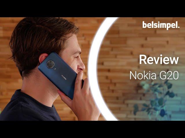 Belsimpel-productvideo voor de Nokia G20