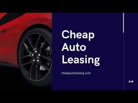 Cheap Auto Leasing