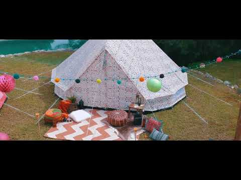 Boutique Camping Tents 5m Weekender Polyester Rundzelte - Rainbow
