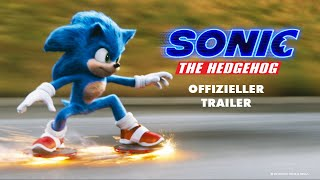 SONIC THE HEDGEHOG | OFFIZIELLER TRAILER | Paramount Pictures Germany HD