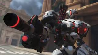 Overwatch Storm Rising Gwinshin Bastion Legendary Skin In Game
