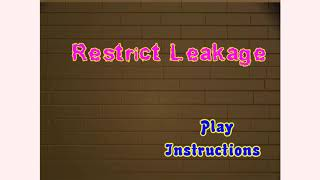 How to play Shop N Dress Restrict Leakage game | Free online games | MantiGames.com