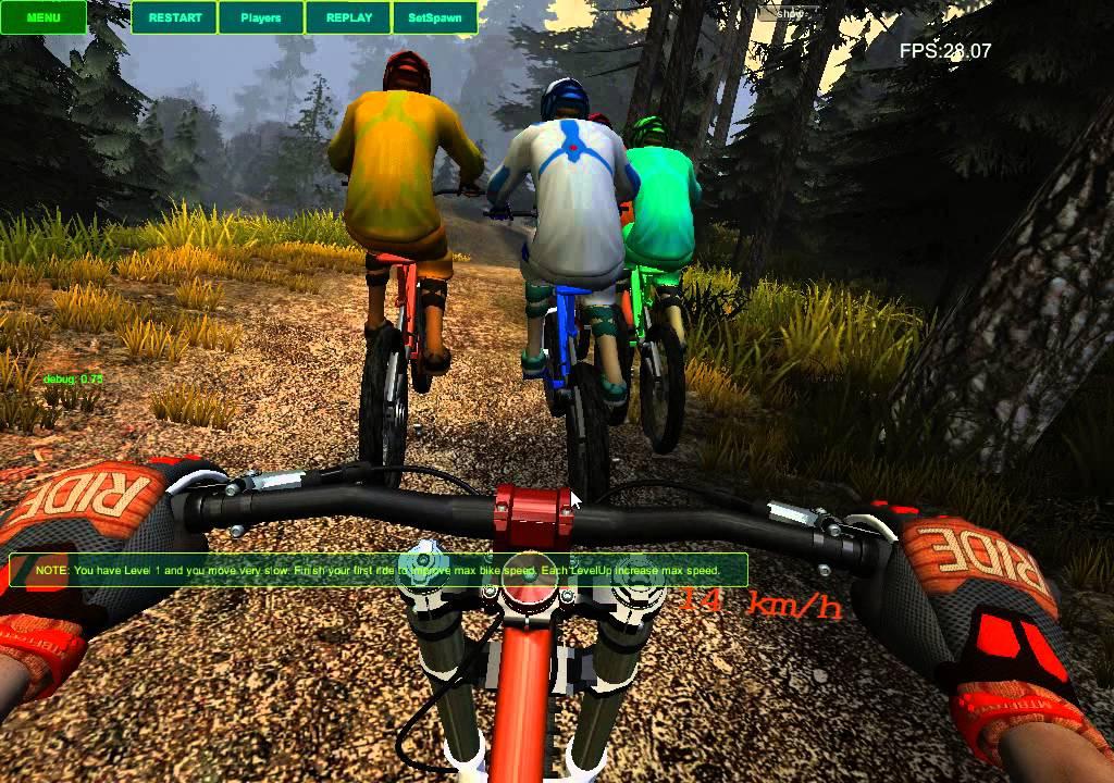 MTB Freeride PC Game YouTube