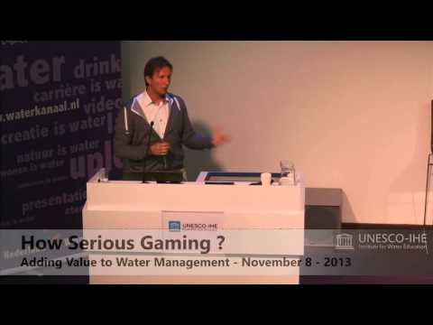 How serious Gaming Symposium- Tygron Unesco IHE