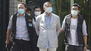 Hong Kong : le magnat prodémocratie Jimmy Lai arrêté, ses journaux perquisitionnés
