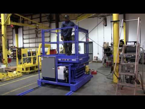 Autoquip's Track Mounted Inspection Lift
