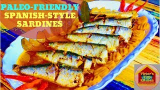 Spanish style Sardines / How To Make The Most Delicious Spanish-style Sardines