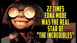 "22 Times Edna Mode Was The Real Star Of ""The Incredibles"""