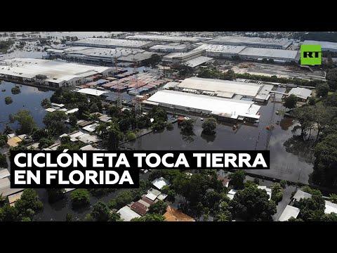 La tormenta tropical Eta alcanza la península de Florida