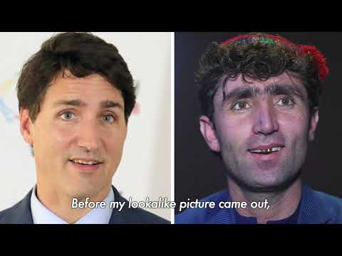Justin Trudeau's double spotted on Afghan talent show