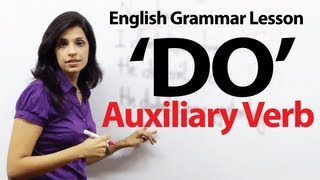 """English Grammar Lessons - Auxiliary Verb - 'DO"""""""