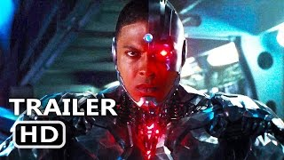 JUSTICE LEAGUE Official Trailer # 2 Cyborg TEASER (2017) Batman, Superhero Movie HD