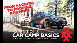 Car Camping Basics with Off-Road Subaru Outback Overland