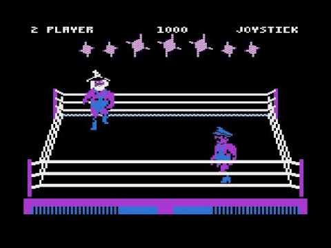Todos los personajes de Bop'n Wrestle para Atari