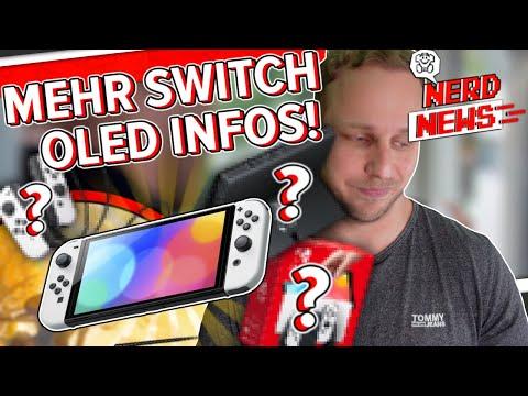 Nintendo Switch OLED - Noch mehr Details!
