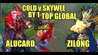 COLD v SKYWEE | TOP GLOBAL FIGHTER BY 1