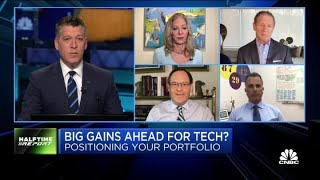 Wedbush's call for 25% tech growth in 2021 is 'aggressive': Halftime trader