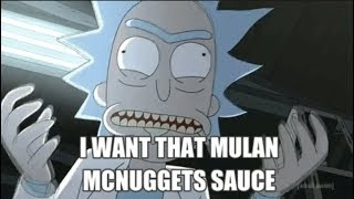Early Rick and Morty Szechuan Sauce Review
