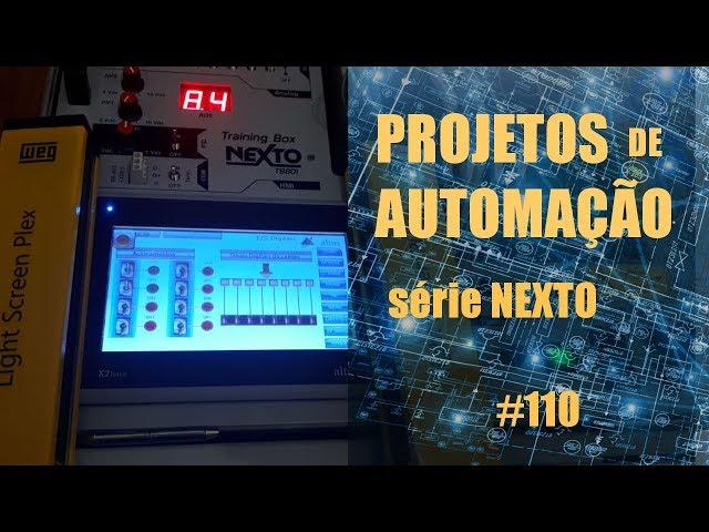 PRENSA COM CONTROLE BIMANUAL PRÁTICA | Projetos de Automação #110