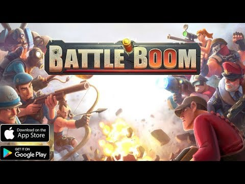 Battle Boom - iPhone/iPad & Android GamePlay[New Strategy]