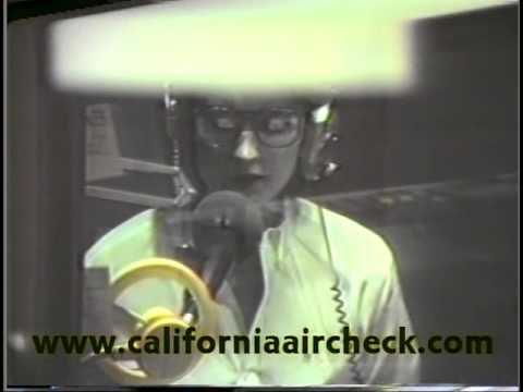 WYAY Y-106 Atlanta Rhubarb Jones & Commander Dave California Aircheck Video 1987