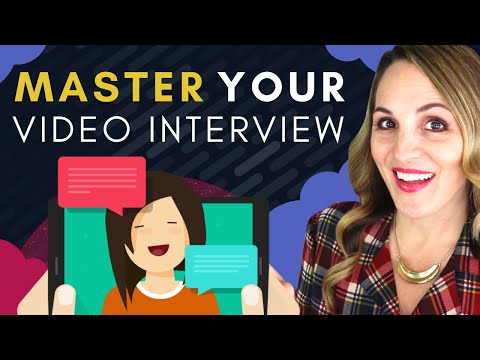 How To PREPARE For A Video Interview 2020 - 7 Tips For A GOOD Video Interview photo