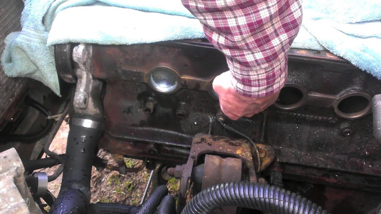 89 Cherokee 4 0 Freeze Plug Replacement Youtube