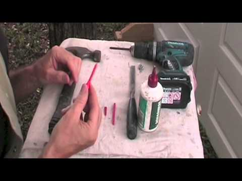 How To Repair Stripped Screw Holes Good One This Video