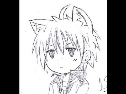 Cute Chibi Boy Drawing Tutorial How to Draw Chibi