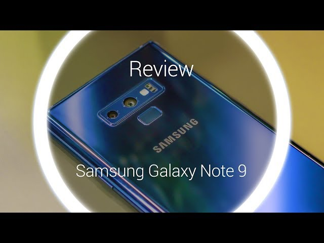 Belsimpel-productvideo voor de Samsung Galaxy Note 9