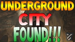 Ark Survival Evolved Underground City Found Scorched Earth Map
