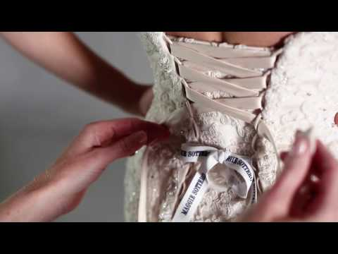 How to Lace Up a Maggie Sottero Designs Wedding Dress