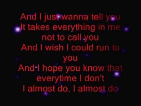 Taylor Swift I Almost Do Lyrics