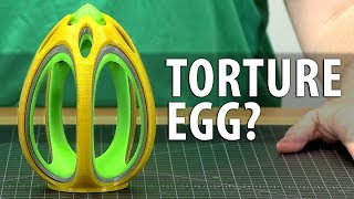 This Egg Broke My 3D Printer - It's Maker's Muse Fault! #DestroyerOfWorlds