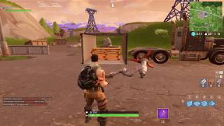 fortnite NEW soccer field found in containers yard