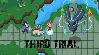 FREEING THE ANCIENT FROM THE SEALS IN PRODIGY!!! Harmony Island Chapter 1 FINAL TRIAL