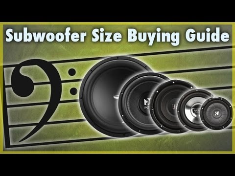 Differences In Subwoofer Sizes