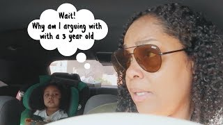 SPENT MY SATURDAY ARGUING WITH A 3 YEAR OLD \\ TARGET RUN \\ RAISINGHALO VLOGS