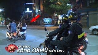 Cảnh Sát Cơ Động làm gì khi gặp dân chơi, tổ lái, giang hồ... trong đêm   Camera giấu kín 2019
