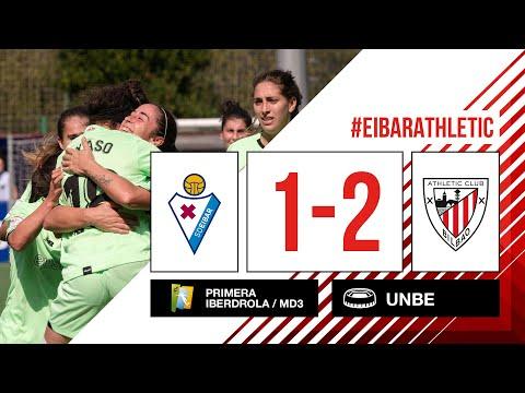 ⚽ HIGHLIGHTS I SD Eibar 1-2 Athletic Club I MD3 Primera Iberdrola 2021-22