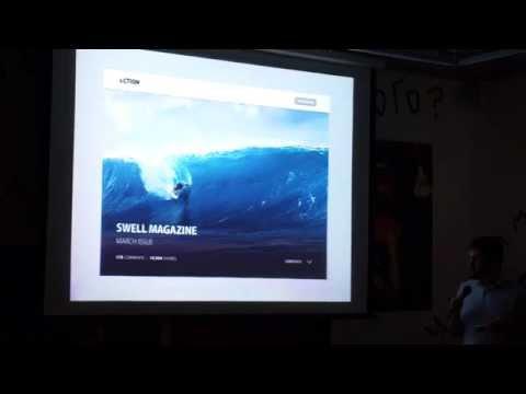 """Антон Колесник """"Анимация интерфейса""""  – Dribbble Meetup Dnipropetrovsk 2014"""