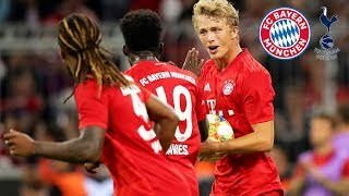 Arp starts comeback with first goal | FC Bayern vs. Tottenham 2-2 (5-6 pens) | Highlights Audi Cup