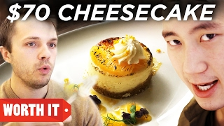 $4 Cheesecake Vs. $70 Cheesecake