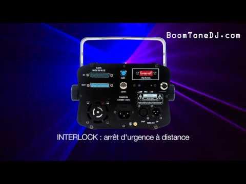 Vidéo BoomToneDJ - KUB 1500 RGB