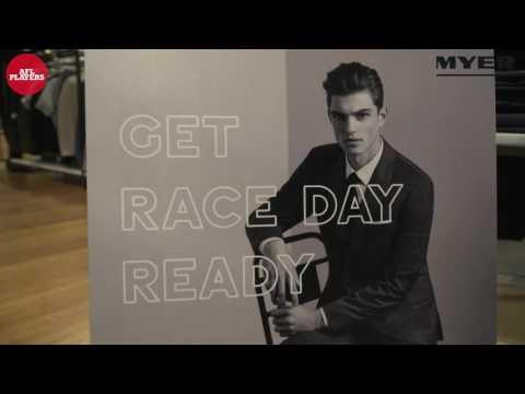 Brett Deledio Launches Myer Campaign