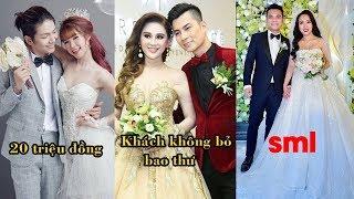 """""""Dở khóc dở cười"""" tiền mừng cưới của loạt sao Việt : Người không đi thiệp,người chỉ 200 nghìn đồng"""