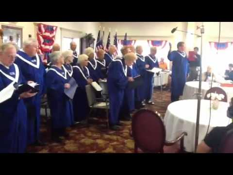 American House Choir Sings The U.S. Air Force Song