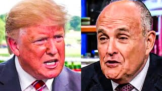Trump Refuses To Pay Rudy Giuliani's Legal Bills