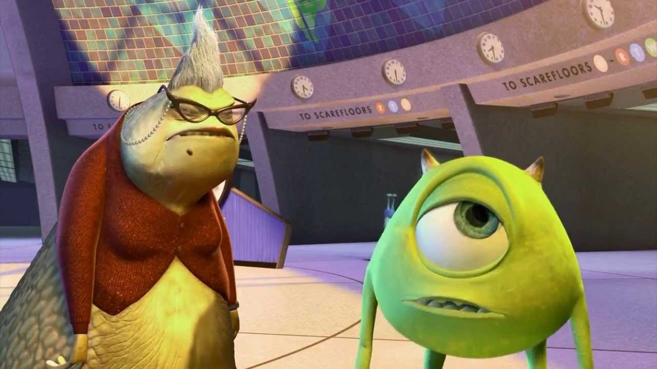 Monsters Inc All Roz Scenes Youtube